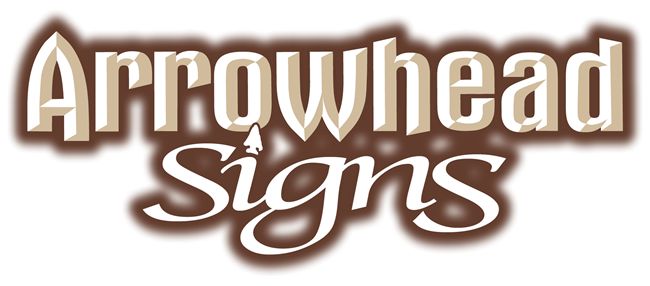 Arrowhead Signs - Hand Painted Sign Projects